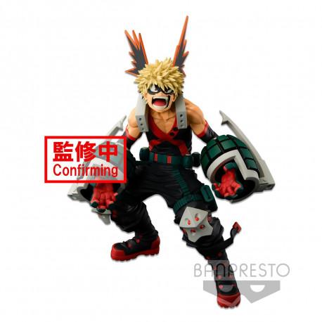 THE KATSUKI BAKUGO (THE ANIME) FIGURA 18CM MY HERO ACADEMIA BWFC MODELING ACADEMY SMSP
