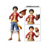 MONKEY D LUFFY FIGURA 28 CM ONE PIECE GRANDISTA NERO