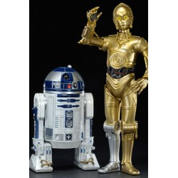 Star Wars Pack 2 Estatuas ARTFX 1/10 C-3PO & R2-D2 17 cm