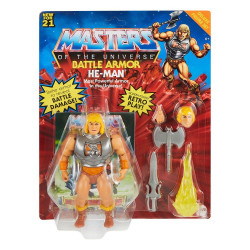 Masters of the Universe Deluxe Figuras 2021 He-Man 14 cm