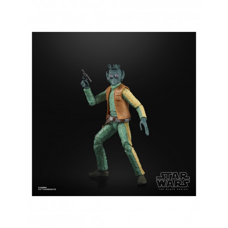 GREEDO FIGURA 15 CM STAR WARS THE POWER OF THE FORCE BLACK SERIES