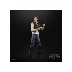 HAN SOLO FIGURA 15 CM STAR WARS THE POWER OF THE FORCE BLACK SERIES