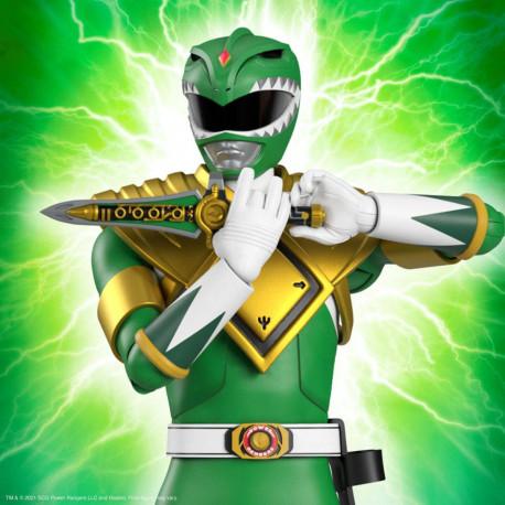 Mighty Morphin Power Rangers Galácticos Figura Ultimates Green Ranger 18 cm