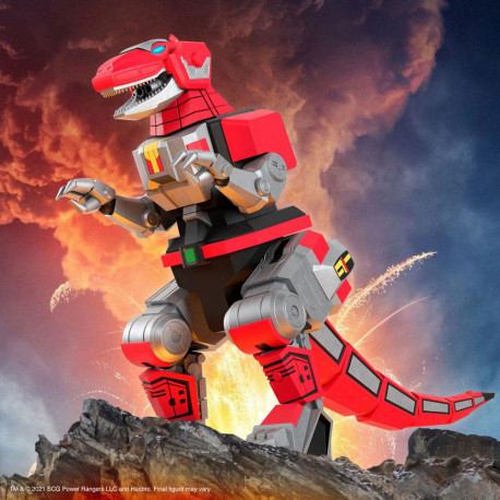 Mighty Morphin Power Rangers Galácticos Figura Ultimates Tyrannosaurus Dinozord 20 cm