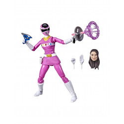 PINK RANGER NEPTUNO FIGURA 15 CM POWER RANGERS IN SPACE P.R. LIGHTNING COLLECTION