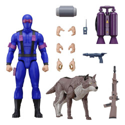 G.I. Joe Figura Ultimates Snake Eyes [Real American Hero] 18 cm