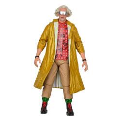 Regreso al Futuro 2 Figura Ultimate Doc Brown (2015) 18 cm