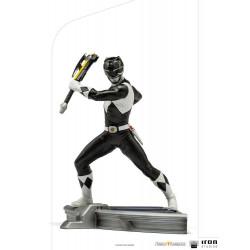Power Rangers Estatua 1/10 BDS Art Scale Black Ranger 17 cm