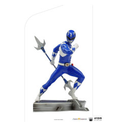 Power Rangers Estatua 1/10 BDS Art Scale Blue Ranger 16 cm