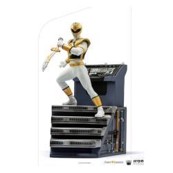 Power Rangers Estatua 1/10 BDS Art Scale White Ranger 22 cm