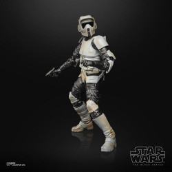 STAR WARS BLACK SERIES SCOUT TROOPER CARBONICED THE MANDALORIAN