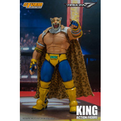 Tekken 7 Figura 1/12 King 17 cm