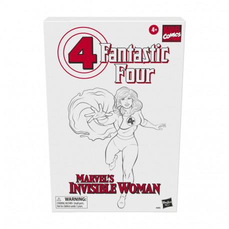 MARVELS INVISIBLE WOMAN FIGURA RETRO 15 CM FANTASTIC FOUR MARVEL LEGENDS