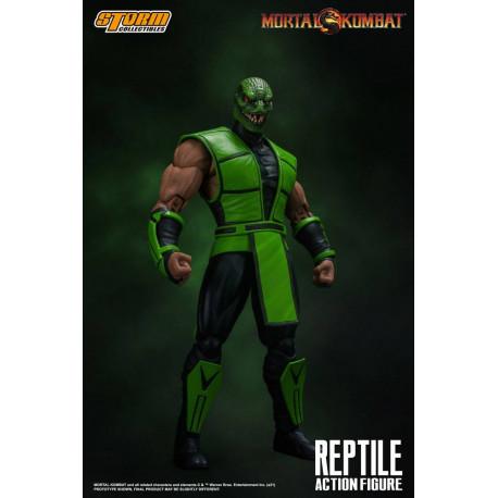 Mortal Kombat Figura 1/12 Reptile 18 cm