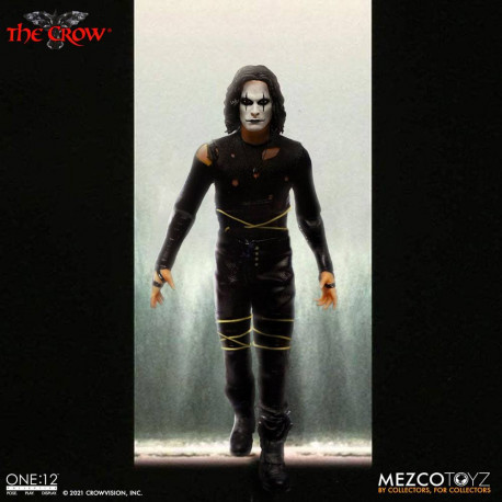 THE CROW FIGURA 17 CM THE CROW THE ONE:12 COLLECTIVE
