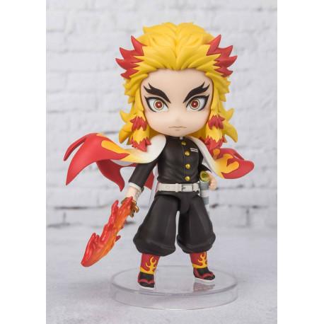 Demon Slayer: Kimetsu no Yaiba Figura Figuarts mini Kyojuro Rengoku (Flame Breathing) 9 cm