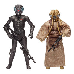 Star Wars Episode V Black Series Pack de 2 Figuras Bounty Hunters 40th Anniversary Edition 15 cm