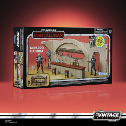 Star Wars The Mandalorian Vintage Collection Nevarro Cantina con Imperial Death Trooper (Nevarro)
