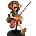 ONE PIECE Figura SCultures Zokeio 4 Luffy 16cm