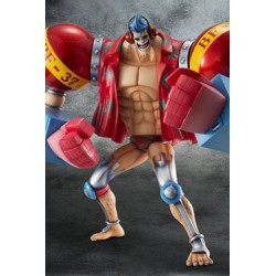One Piece Estatua PVC 1/ Excellent Model Limited P.O.P. SA-Maximum Armored Franky 23 cm