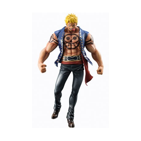 One Piece Estatua PVC 1/8 Excellent Model P.O.P. Sailing Again Bellamy The Hyena 25 cm