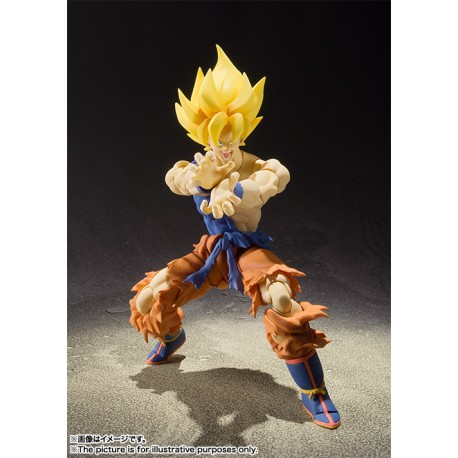 Dragon Ball Z SH Figuarts Super Saiyan Son Goku Super Warrior Awakening
