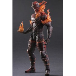 Metal Gear Solid V The Phantom Pain Play Arts Kai Figura Man on Fire 29 cm