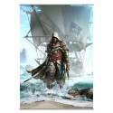 Assassin´s Creed IV Black Flag Póster Tela Vol. 1 105 x 77 cm