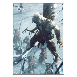 Assassin´s Creed III Póster Tela Vol. 2 105 x 77 cm