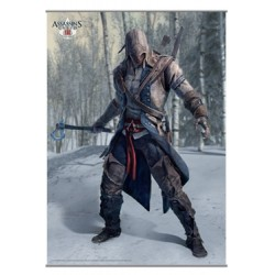 Assassin´s Creed III Póster Tela Vol. 1 105 x 77 cm