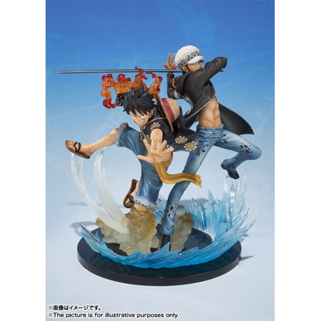One Piece Figuarts Zero Monkey D. Luffy & Trafalgar Law 5th Anniversary Edition