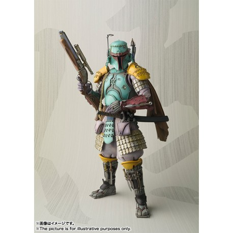 Star Wars Movie Realization SH Figuarts Samurai Boba Fett
