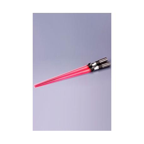 Star Wars palillos con luz sable laser Darth Vader