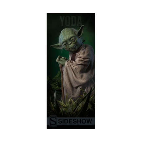 Sideshow Collectibles Banner Star Wars Yoda 76 x 183 cm