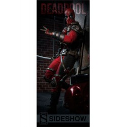 Sideshow Collectibles Banner Marvel Comics Deadpool 76 x 183 cm