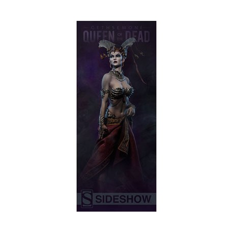 Sideshow Collectibles Banner Court of the Dead Queen of the Dead 64 x 152 cm