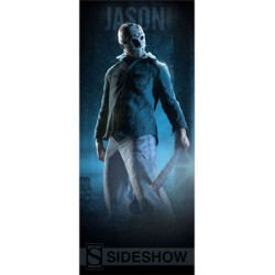 Sideshow Collectibles Banner Friday the 13th Jason Vorhees 64 x 152 cm