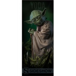 Sideshow Collectibles Banner Star Wars Yoda 64 x 152 cm