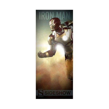 Sideshow Collectibles Banner Marvel Comics Iron Man 64 x 152 cm