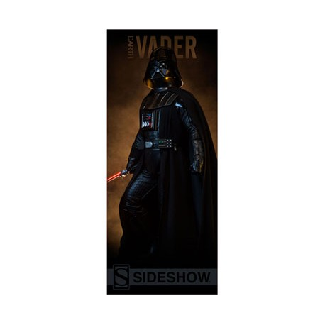 Sideshow Collectibles Banner Star Wars Darth Vader 50 x 122 cm