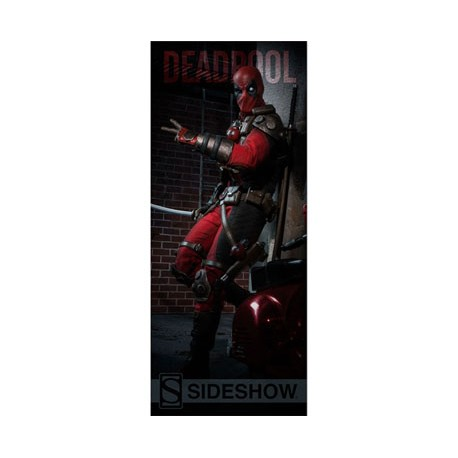 Sideshow Collectibles Banner Marvel Comics Deadpool 50 x 122 cm