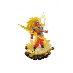 Dragon Ball Super Dracap Memorial 03 Estatua PVC Super Saiyan 3 Son Goku 10 cm