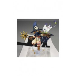 Digimon Adventure Serie G.E.M. Estatua PVC Wizardmon & Tailmon 18 cm