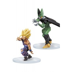 Dragon Ball Z Dramatic Showcase Son Gohan & Cell 11-14 cm