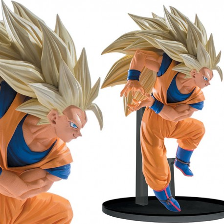 Dragon Ball Z SCultures Big Budoukai 6 vol.1 Goku SS3 13 cm