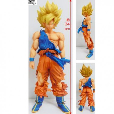 Dragon Ball Z Master Stars Piece Super Saiyan Goku