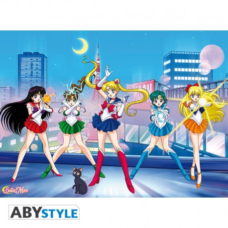 Sailor Moon Poster Sailor Guerreras (52x38)
