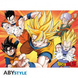 Dragon Ball Poster Saiyans (52x38)