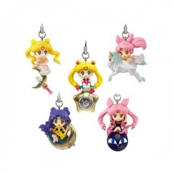 Sailor Moon Set 5 Llaveros 5 cm