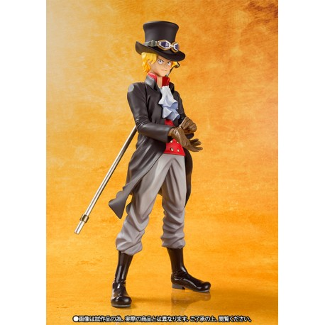One Piece Figuarts Zero Sabo Film Gold Version 15 cm
